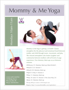 Mommy & Me Yoga Spring 15