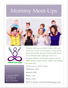 Mommy Meet-ups Spring 15